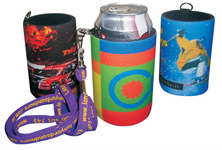 Stubby Holders with Handy Tag